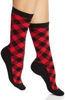 Ralph Lauren Buffalo Check Boot Socks