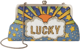 Sarah's Bag Lucky Blue Clutch Print 1SIZE