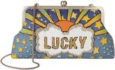 Sarah's Bag Lucky Blue Clutch