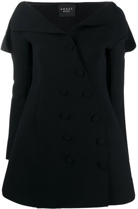 A.W.A.K.E. Mode Double Breasted Jacket Dress