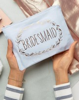 Paperchase Wedding Team Bridesmaid's Pouch
