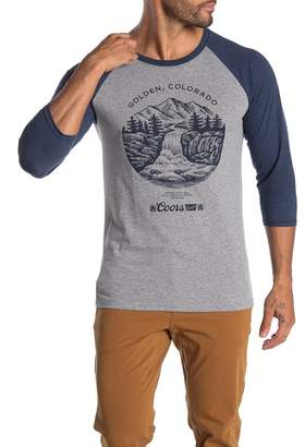 Fifth Sun Golden Rocky Brew Raglan Sleeve T-Shirt