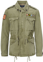 Polo Ralph Lauren Cotton Canvas Military Jacket