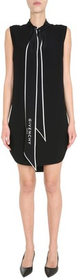 Givenchy Scarf Collar Shift Dress