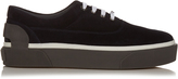 Lanvin Low-top suede trainers