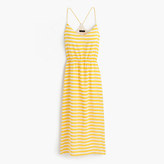 J.Crew Petite Carrie dress in stripe
