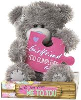 Me To You Tatty Teddy Girlfriend You Complete Me Bear 15cm