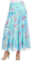 Peter Nygard Printed Maxi Skirt