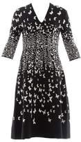 Bottega Veneta Women's White/black Viscose Dress.