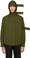 Craig Green Green Hooded Straps Jacket