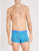 Moschino Teddy-print slim-fit stretch-cotton boxers
