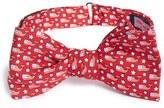 Vineyard Vines 'Stars & Whales' Print Silk Bow Tie