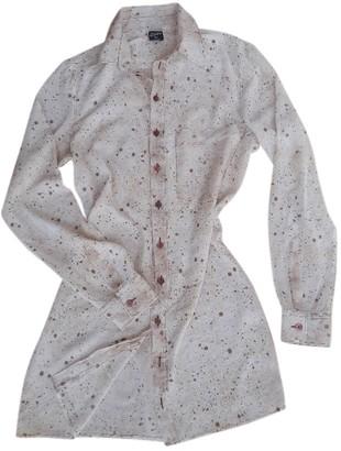 Jean Paul Gaultier Beige Silk Top for Women