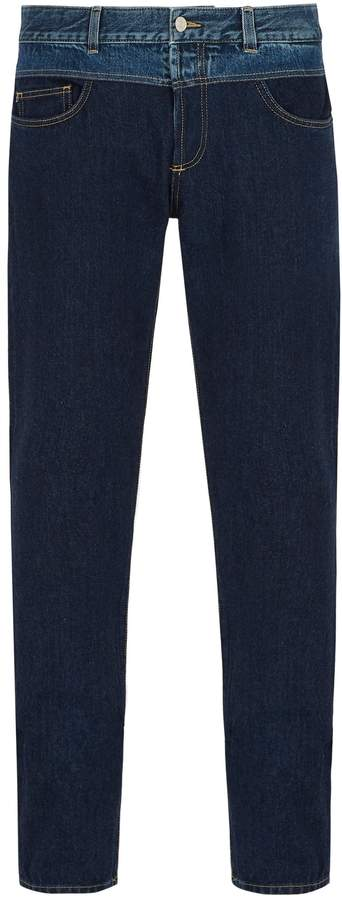 Givenchy Contrast-waistband jeans