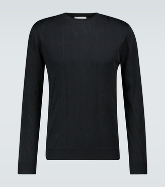 Valentino VLTN jacquard sweater