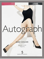Autograph 5 Denier Cool ComfortTM Bare Cooling Oiled Look Tights