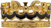 Dolce & Gabbana Gold Crown Ring