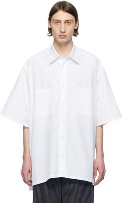 Givenchy White Oversize Patch Shirt