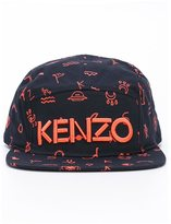 Kenzo 'Amit' patterned cap