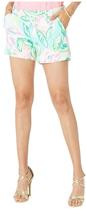Lilly Pulitzer Callahan Knit Shorts (Multi Totally Blossom) Women's Shorts