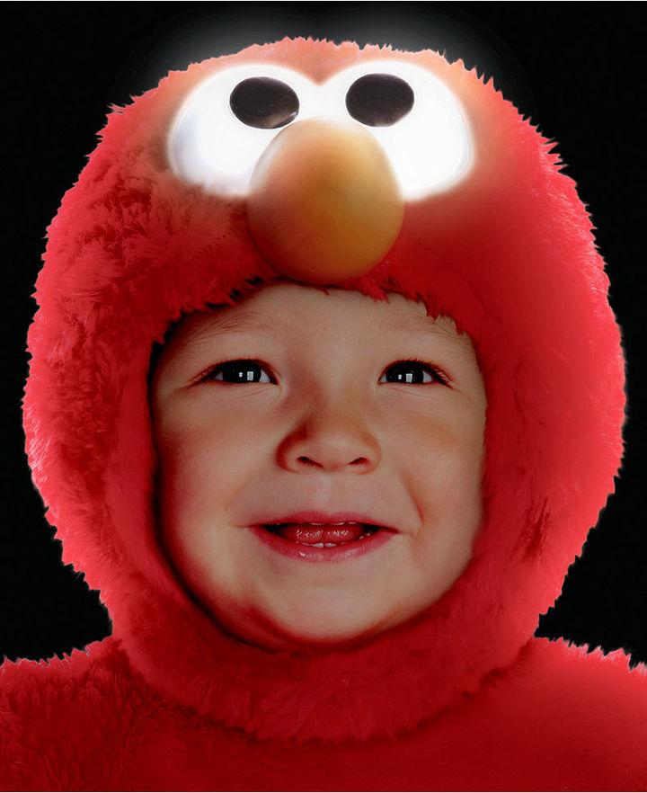 Disguise Kids Costume, Little Boys or Little Girls Light-Up Elmo Costume