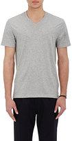 Vince Men's Pima Cotton V-Neck T-Shirt-GREY