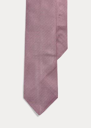 Ralph Lauren Pin Dot Silk Narrow Tie