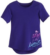 Under Armour Girls' Pre-School UA The Sky Is The Limit Short Sleeve