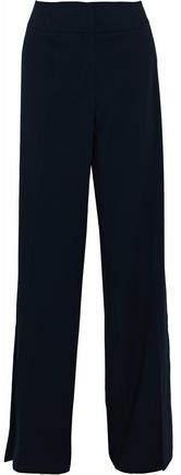 Giorgio Armani Wool-Twill Wide-Leg Pants