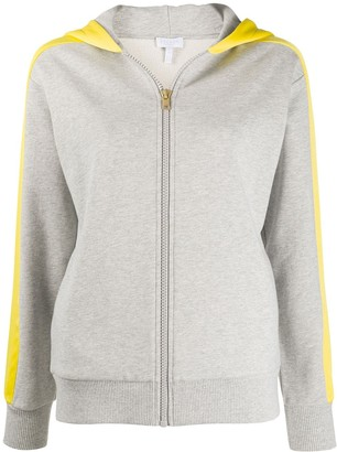 Escada Sport Two-Tone Zipped Hoodie