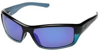 Maui Jim Barrier Reef (Blue/Turquoise/Blue Hawaii) Athletic Performance Sport Sunglasses