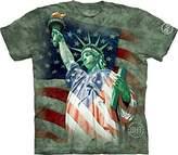 The Mountain Men's Hero Collection Defending Liberty T-Shirt
