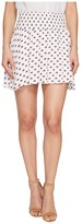 BB Dakota Falana Saharan Geo Printed Crinkle Poly Smocked Skirt Women's Skirt