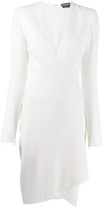 Tom Ford V-neck fitted dress