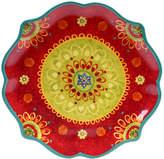 Certified International Tunisian Sunset Round Platter