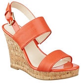 Nine West Lucini Cork Wedge Sandals