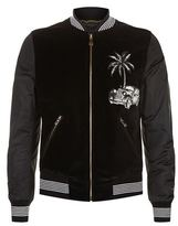 Dolce & Gabbana Car And Palm Tree Bomber Jacket