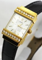 Concord Crystale 18K Gold and Diamond Bezel Women's Watch