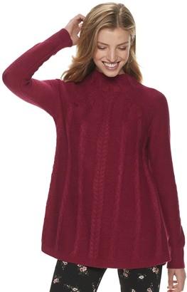 Elle Women's Cable Swing Sweater
