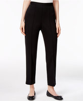 Alfred Dunner Petite Straight-Leg Ankle Pants