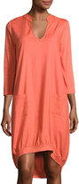XCVI Edmunda Linen-Blend Dress