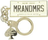 Kate Spade Key Fobs Mr. and Mrs. Keychain