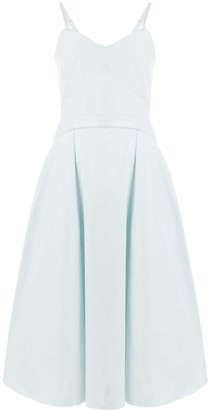 Three Graces fitted V-neck dress