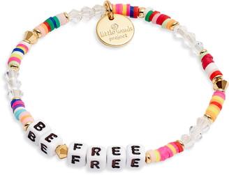 Little Words Project Be Free Bracelet