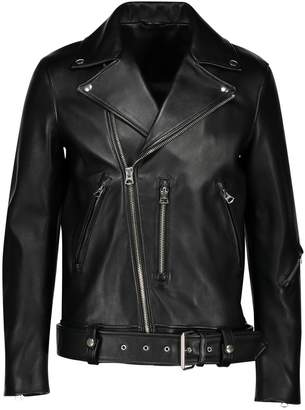 Acne Studios Regular fit biker jacket