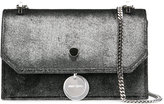 Jimmy Choo Finley small shoulder bag - women - Metal (Other)/Velvet - One Size