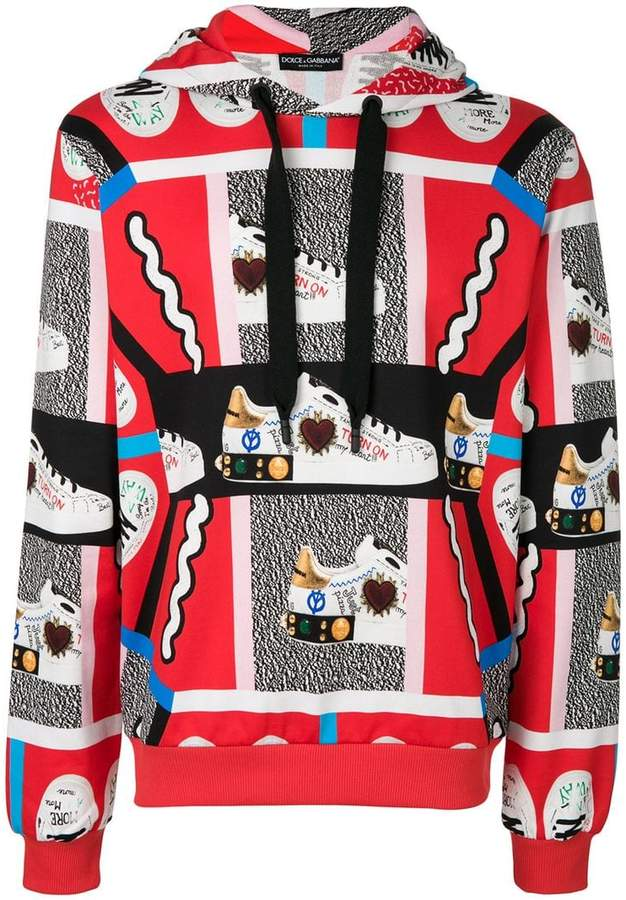 Dolce & Gabbana King of Hearts hoodie