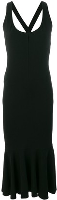 Dolce & Gabbana Pre-Owned long fitted dress