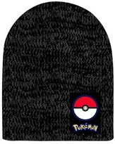 Pokemon Pokeball Logo Winter Beanie - Grey - Acrylic