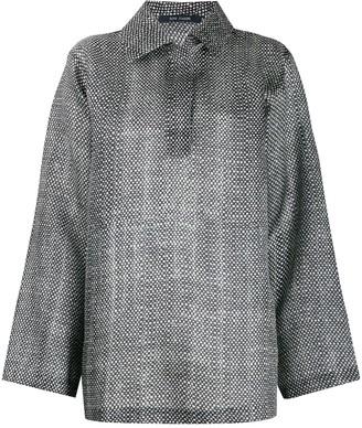 Sofie D'hoore graphic print blouse